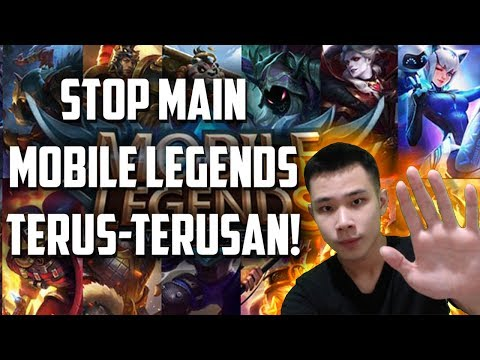 Image of STOP MAIN MOBILE LEGENDS TERUS-TERUSAN!