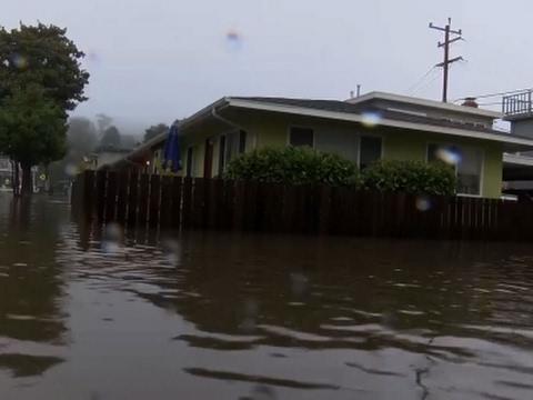 Widespread Floods as Rainstorms Soak California