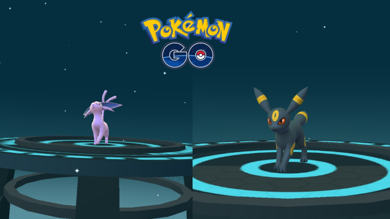 Pokemon Go Gen 2 How To Evolve Eevee Into Umbreon Espeon Youtube