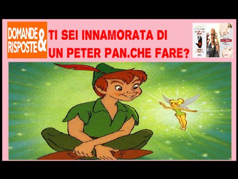 sindrome peter pan uomo
