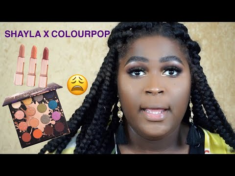 C'mon Sis! SHAYLAXCOLOURPOP Swatches & Review | This Is Black Beauty