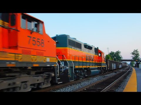 HD: [FOREIGN POWER INVASION]!!! on the Capital Subdivision- CREX, BNSF, CP, H1- 7/16/17,RARE!!!