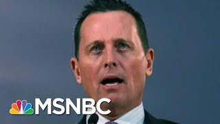 Trump To Install Loyalist With No Intelligence Experience As DNI | Rachel Maddow | MSNBC