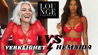 VERKLIGHET VS HEMSIDA - Lounge Underwear
