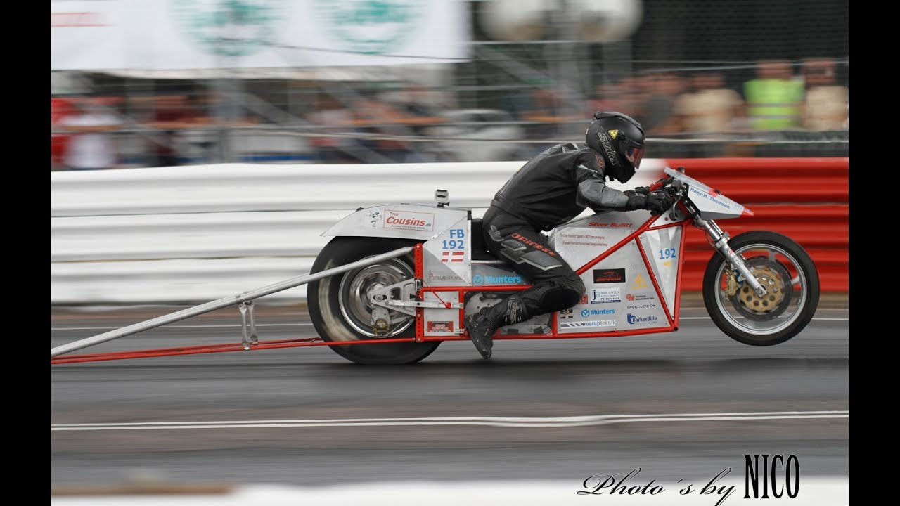 Silver Bullitt Worlds Quickest Electric Dragbike 7 78 Sec Crash