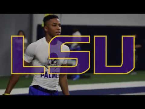 LSU lands commitment from 4-star Kentwood receiver Trey Palmer