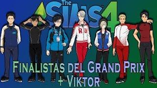 The SIMS 4 CAS: Grand Prix Final Skaters+ Viktor (Yuri on Ice!!!)