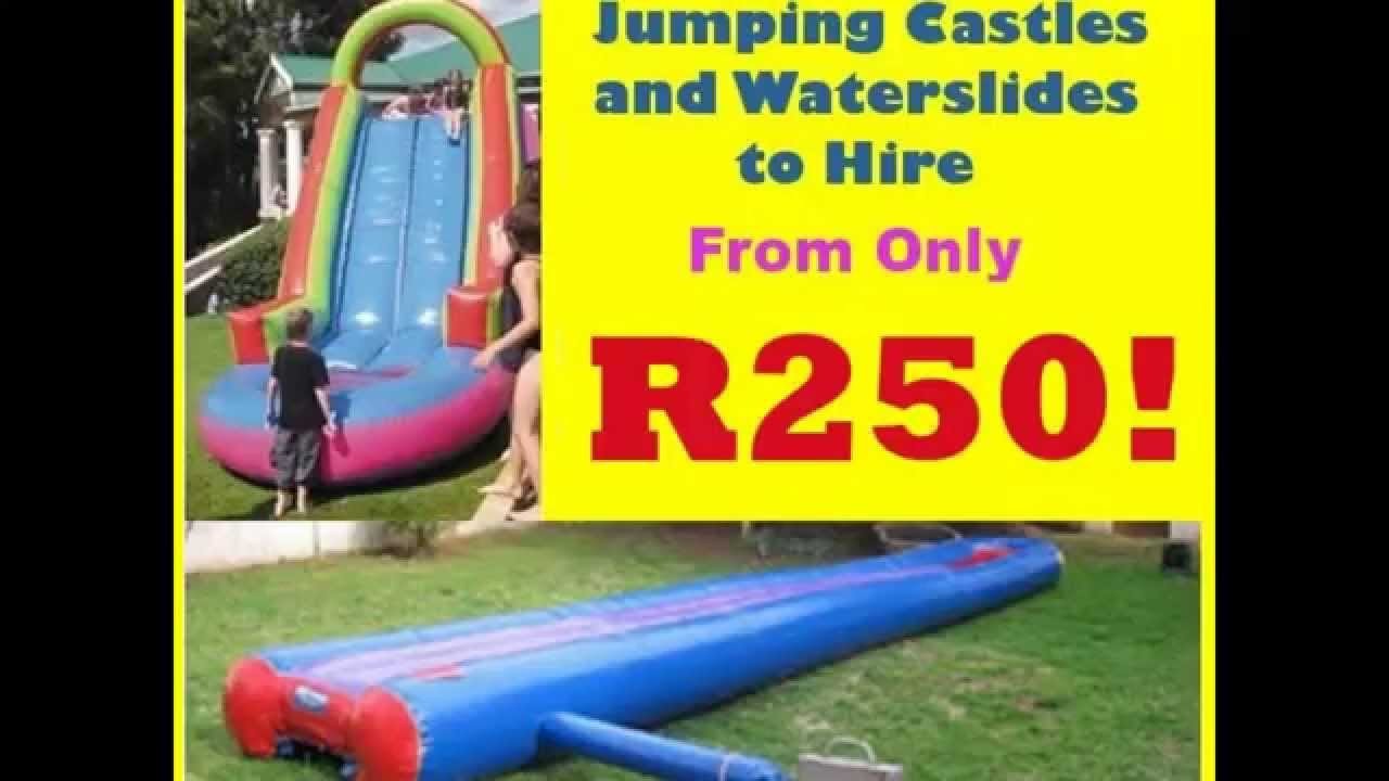 Inflatable Slip And Slide Hire