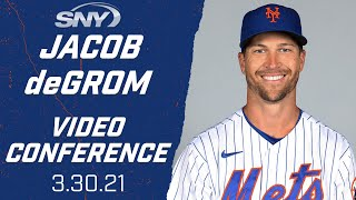Jacob degrom looks ahead to opening day, competing for a 3rd cy young | new york mets sny
