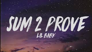 Lil Baby - Sum 2 Prove [Instrumental with Hook]