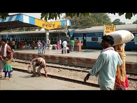 Chandigarh Express on Hardoi Railway Station 15011 / 15012