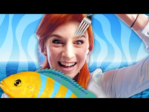 The Little Mermaid SNAPPED | One Letter Off Disney Movies