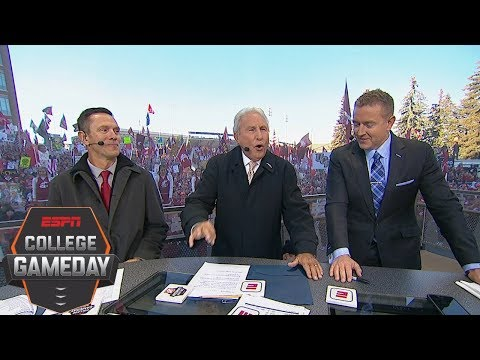 Lee Corso picks Week 8: Oregon Ducks vs. Washington State Cougars | College GameDay