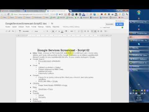 Služby Google - 1. díl: Gmail a Dokumenty Google