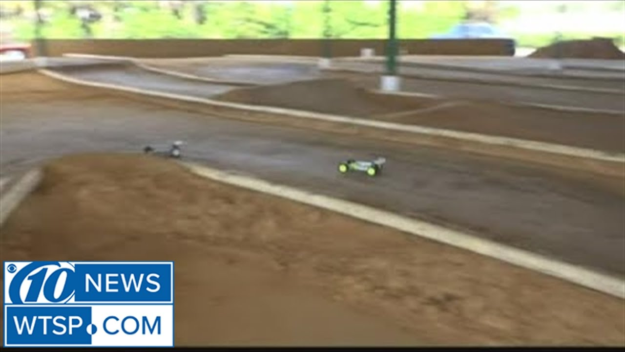 Local Racetrack Takes Remote Control Car Racing To A New Level Youtube