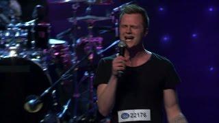 Gustav Blomberg sjunger Grenade i solomomentet av Idols slutaudition - Idol Sverige (TV4)