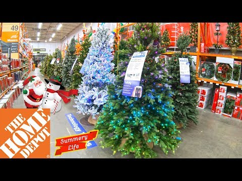 NEW HOME DEPOT CHRISTMAS 2019 DECORATIONS CHRISTMAS SHOPPING GIFTS IDEAS CHRISTMAS LIGHTS ORNAMENTS