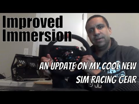 VR / Direct Drive / Load Cell Sim Racing - An Update On My New Gear
