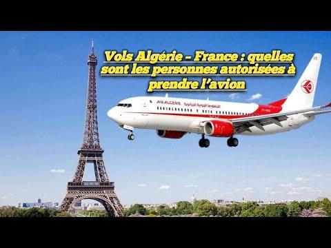 Vols Algérie –
