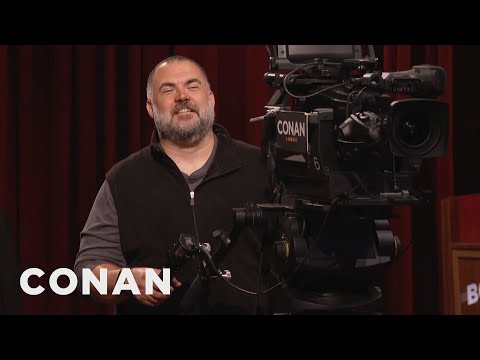 Tony The Cameraman Loves Smutty Double Entendres  - CONAN on TBS