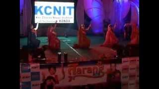 Tarang 2013 KCNIT 0103-13 JO HAI ALBELA MAD NAINO WALA) GROUP DANCE