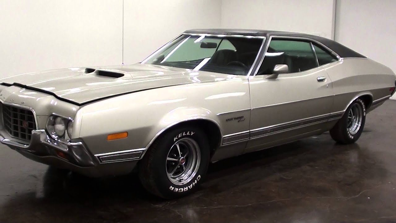 1972 ford gran torino sport 351 cobra jet v8 youtube. Black Bedroom Furniture Sets. Home Design Ideas