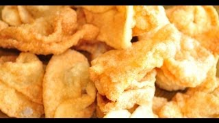 How To Prepare Fried Won Tons Chinese Recipes, Chinese Food, Non Vegetarian