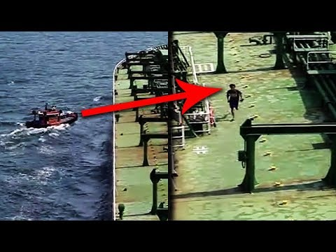 12 Scariest REAL Pirates Caught on Tape