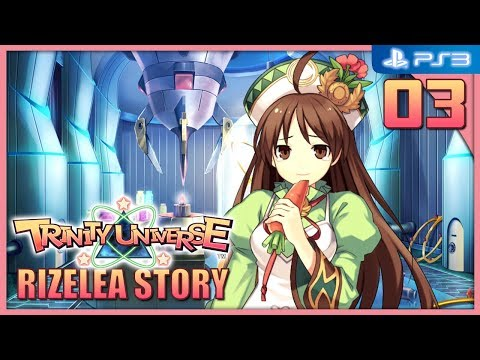 Trinity Universe 【PS3】 Rizelea Story #03 │ Chapter 2 : My Friend Really Loves Carrots