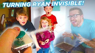 Turning Ryan Invisible! We Got a Mysterious Package!  / The Beach House