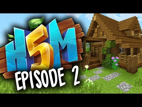 BUILDING A HOME! (How To Minecraft S5 Episode 2)