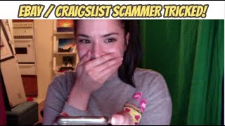 Voice Actor SCAMS THE SCAMMER! #ebay #craigslist 🚫SCAM 🚫TOO funny...! | IRLrosie #scambaiting