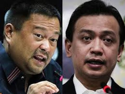 "ikulong! Sen. JV to refer ""disrespectful"" Trillanes: ""He's becoming destructive to the country"""