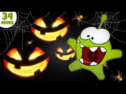 Om Nom Stories: Halloween Special Episode   Cartoons for Children by HooplaKidz TV