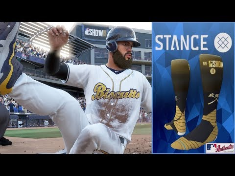 THESE SOCKS HAVE SUPER POWERS  MLB THE SHOW 18 ROAD TO THE SHOW EPISODE 10