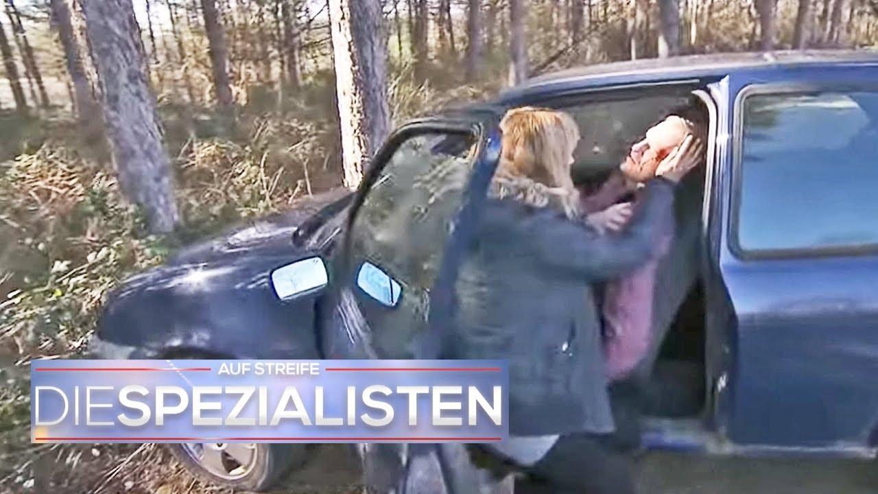 Horrorfahrt: Auto knallt gegen Baum!   Die Spezialisten   SAT.1