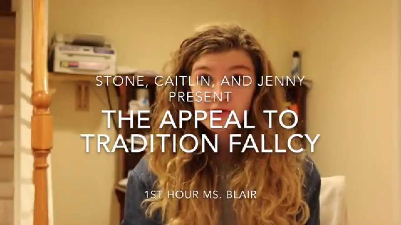 Appeal to tradition Fallacy - YouTube Fallacy