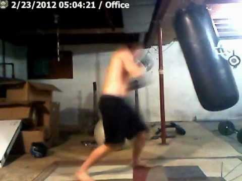 Punch Punching Bag So0o Hard Breaks Chain Win + Fail !