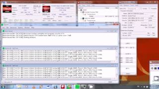 AMD A4 3300M CPU Temperature Stress Test on HP Laptop