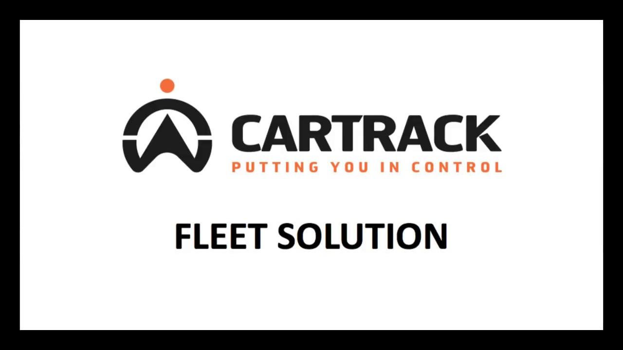 Fleet login cartrack