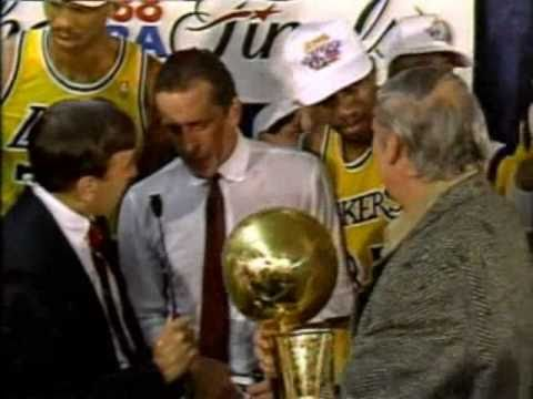 1988 NBA Finals: Pistons at Lakers, Gm 7 part 12/12