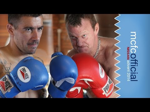 KOLAROV FIGHTS CHAPPY! | Man City Advent Calendar 2014 | Day Three
