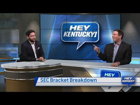 Matt and Drew's SEC Bracket Breakdown