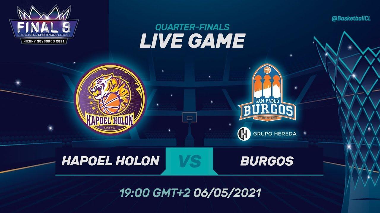 Hapoel Unet-Credit Holon v Hereda San Pablo Burgos - Full Game | @Basketball Champions League