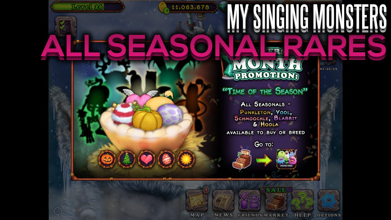 my singing monsters combinations