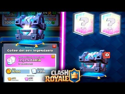 """NUEVA LEGENDARIA """"FANTASMA REAL"""" & ABRIMOS LOS NUEVOS COFRES!!   Clash Royale   Rubinho vlc"""
