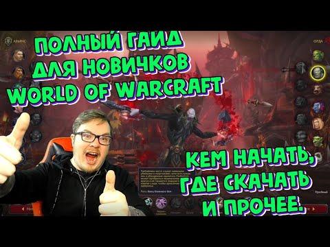 Полный гайд для новичков World of Warcraft 2020.