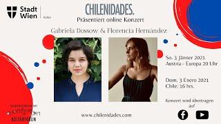 """Chilenidades Online Konzert: """"Gabriela Dossow & Florencia Hernandez"""""""