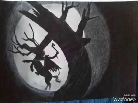 dibujo sleepy hollow