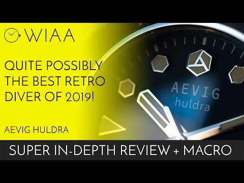 The Best Retro Diver Of 2019?! Aevig Huldra Watch Review